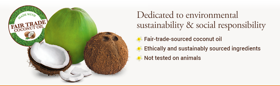 environmental sustainability social responsibility fair trade ethically sourced not tested animals