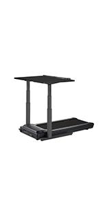 treadmill desk black