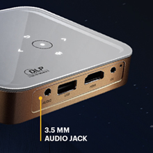 Kodak luma 350 projector audio jack