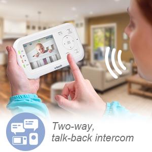 Two-way talk-back intercom