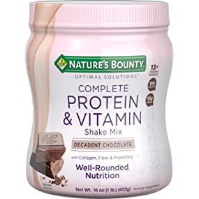 Nature's Bounty Protein Shake Chocolate, 16 ounces