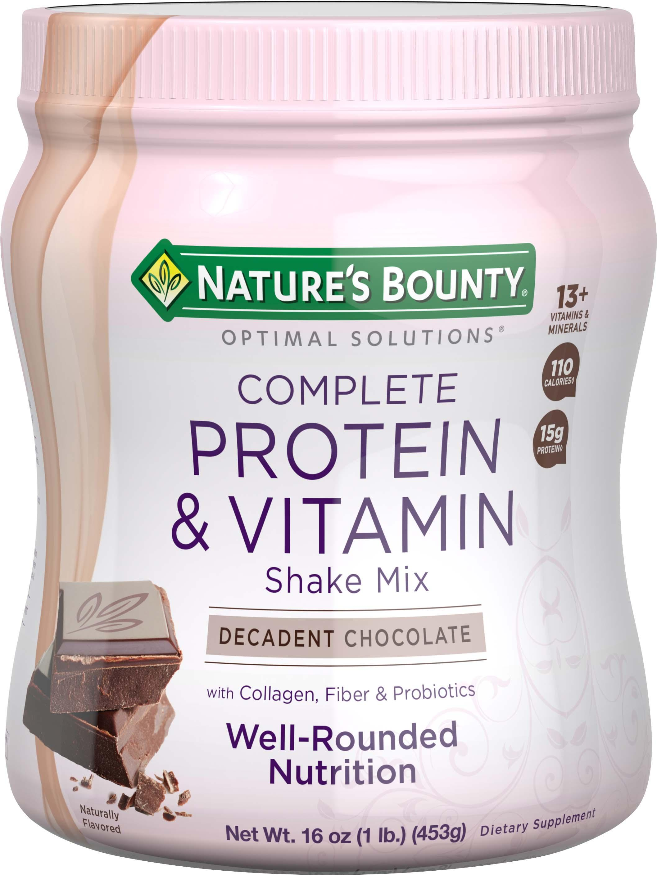 Reviews On Nature S Bounty Protein Shake