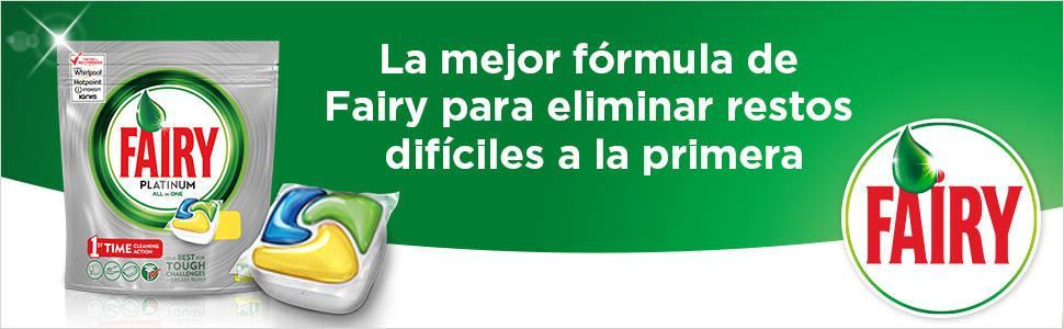 Fairy Original TodoEn1 Cápsulas de Lavavajillas - 14+2 capsulas ...