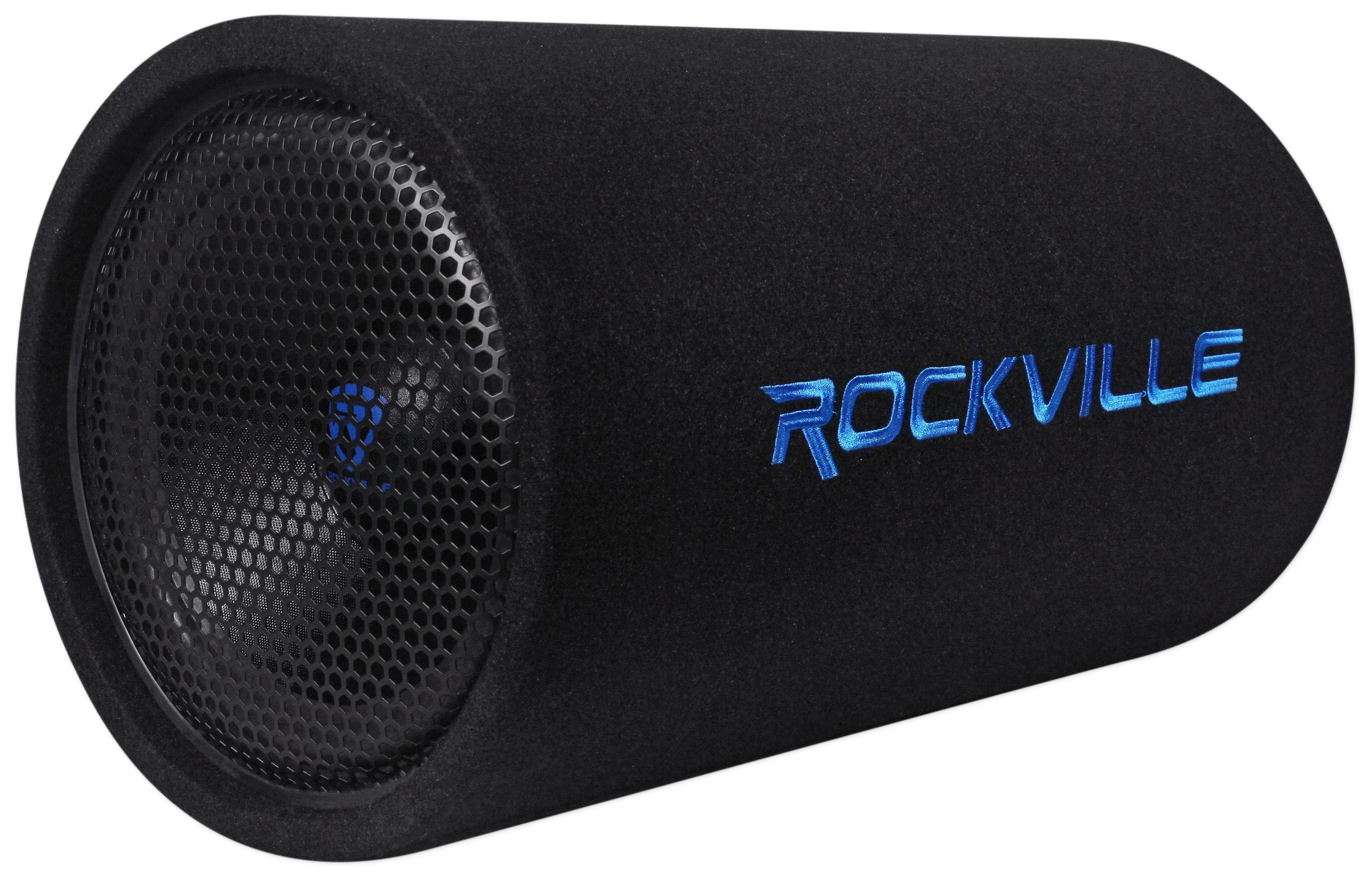 "Amazon.com: Rockville RTB12A 12"" 600w Powered Subwoofer"