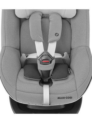 Maxi Cosi E Safety Smartes Kissen Geeignet Ab Der Geburt 0 Monate 6 Jahre Min 45 Cm Min 2 5 Kg Schwarz Baby