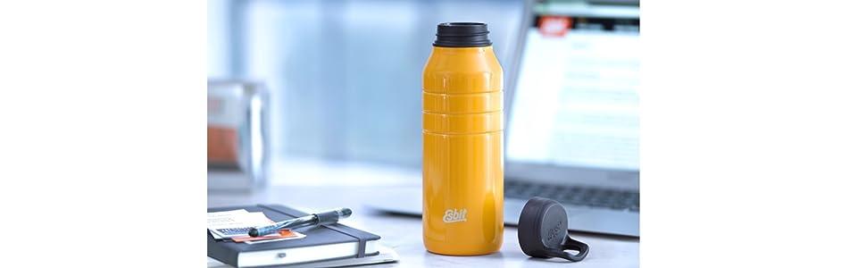 DB1000TL-Y; Majoris; Esbit; Trinkflasche; Wasserflasche; Sportflasche; Edelstahlflasche;