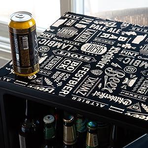 beverage cooler, beverage fridge, cooler