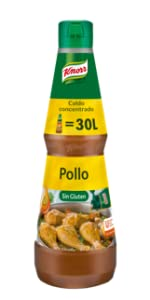 Knorr Caldo líquido concentrado de Carne Sin Gluten botella ...