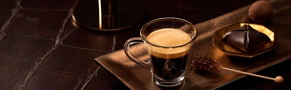 L'OR koffiecups voor je Nespresso* apparaat