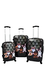 ef2cc2e513a4 Amazon.com | Chariot Dream 3-Piece Hardside Lightweight Upright ...