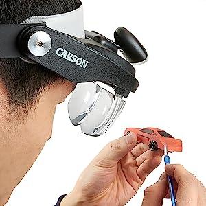 Amazon Com Carson Optical Pro Series Magnivisor Deluxe