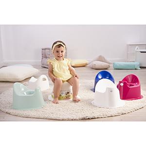 Avec pied solide Bleu Lagoon 20003 0292 Rotho Babydesign TOP Pot Enfant /À partir de 18 mois