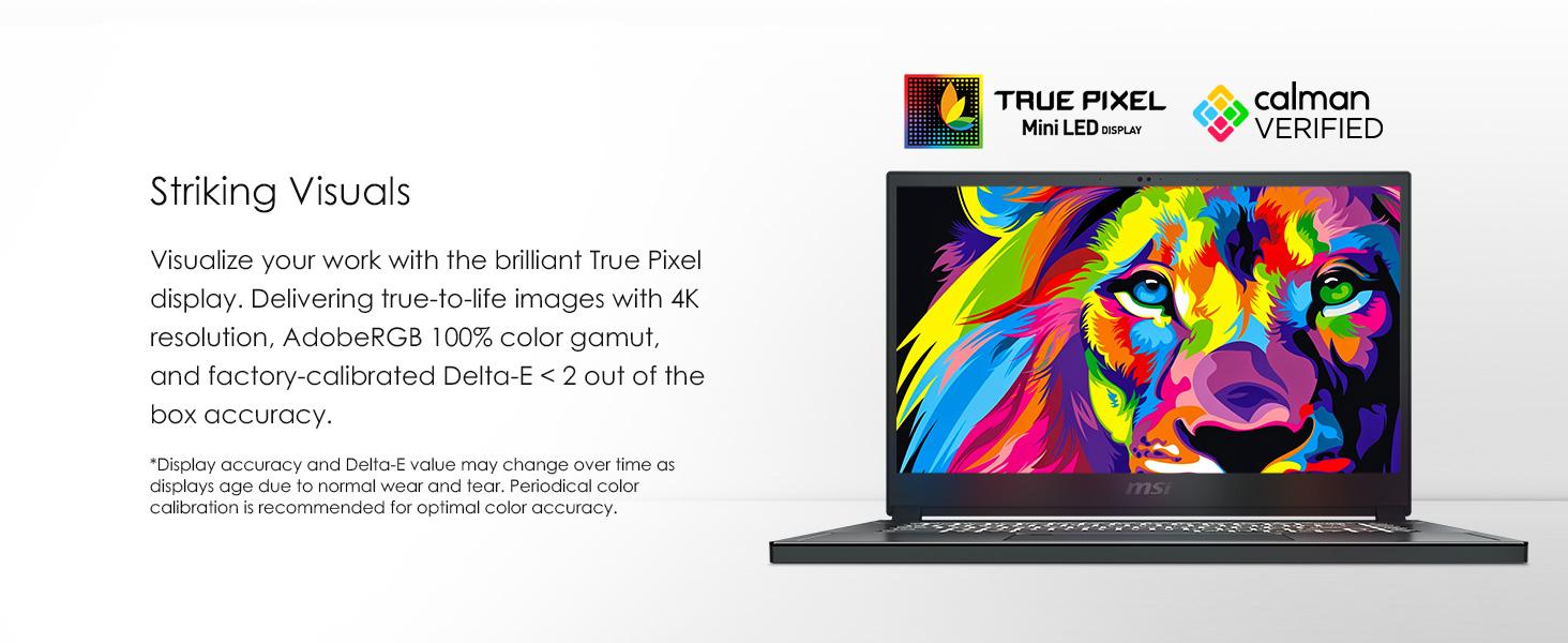 true pixel