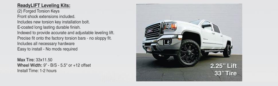Readylift 66-3011 Lift Kits