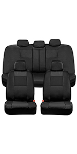 black leather seat covers for car