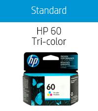 60 color tri-color black xl combo pack hp ink cartridges cartridge printer Hewlett Packard