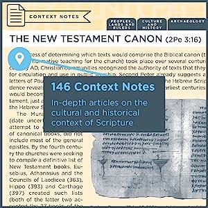 Bible Context, Context Notes