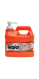 ... GOJO NATURAL* ORANGE Pumice Hand Cleaner ...