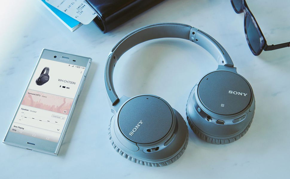 Headphone WH-CH700N com Noise Cancelling sem fio, com