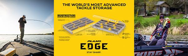 Plano EDGE tackle box, edge tackle storage, waterproof tackle box, kastking, tackle organizer,