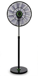 Orbegozo SF 0147 Ventilador de pie oscilante, 3 niveles de ...