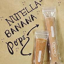 nutella zipzicle ice pop popsicle