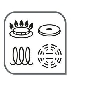 Tefal Daily Cook - Cazo de acero inoxidable de 12cm, base reforzada, aptas para todo tipo de cocinas incluido inducción, gran conductividad y ...
