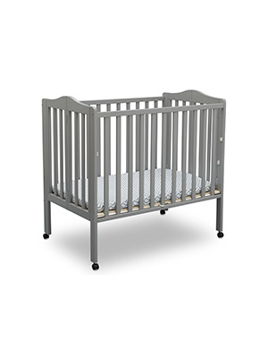 delta children folding portable mini crib baby furniture nursery