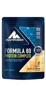 Multipower Protein Layer Bar, 18 x 50 g Riegel (Caramel ...