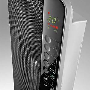 De Longhi Digital Ceramic Tower Heater Tch8093er White
