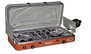 camp stove;double burner;propane stove;camping;cooking;coleman;