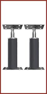 adjustable pole jack floor post screw leveling bottle 20 ton support air leveling foundation pole