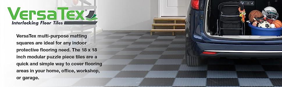 interlocking tile, home gym flooring, puzzle piece flooring, modular floor, garage floor, gym tile