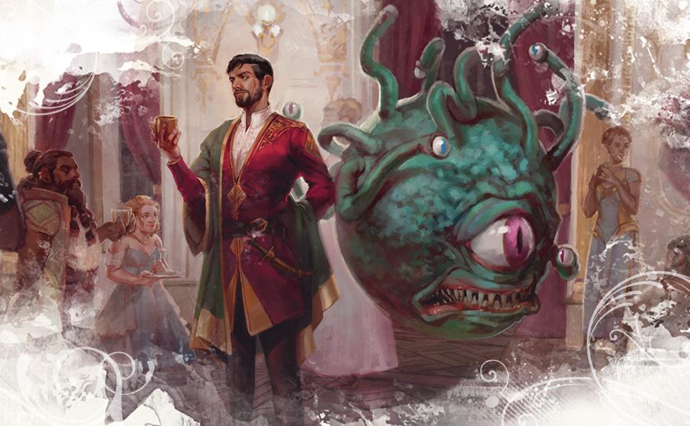Beholder, D&D monster, Candlekeep Mysteries