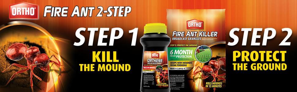 Ortho 0275510 Fire Ant Killer, 2-12 OZ Bottles