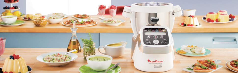 Moulinex Heating And Cooking Food Processor Cuisine Companion 6