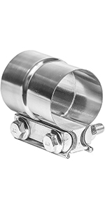 TOTALFLOW Lap Joint Exhaust Clamp