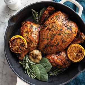 chicken, dinner, date night, entree, recipes, cookbook, couples, roast