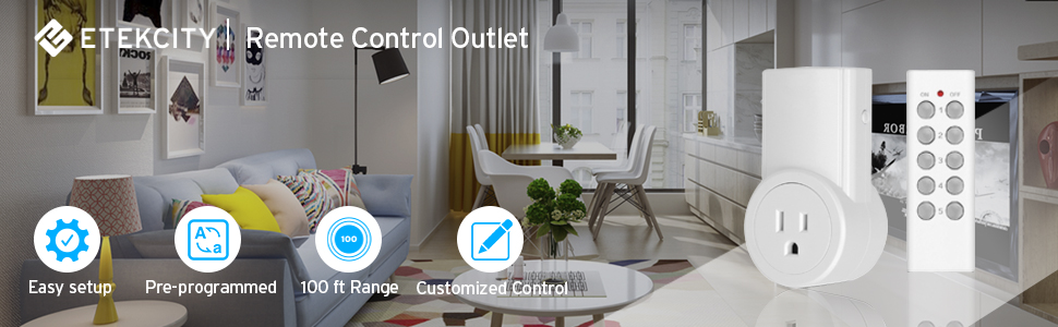 Etekcity Remote Control Outlet