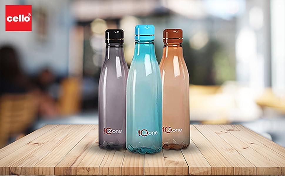 Ozone plastic bottle