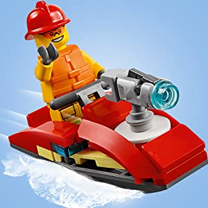 LEGO, fire station, City