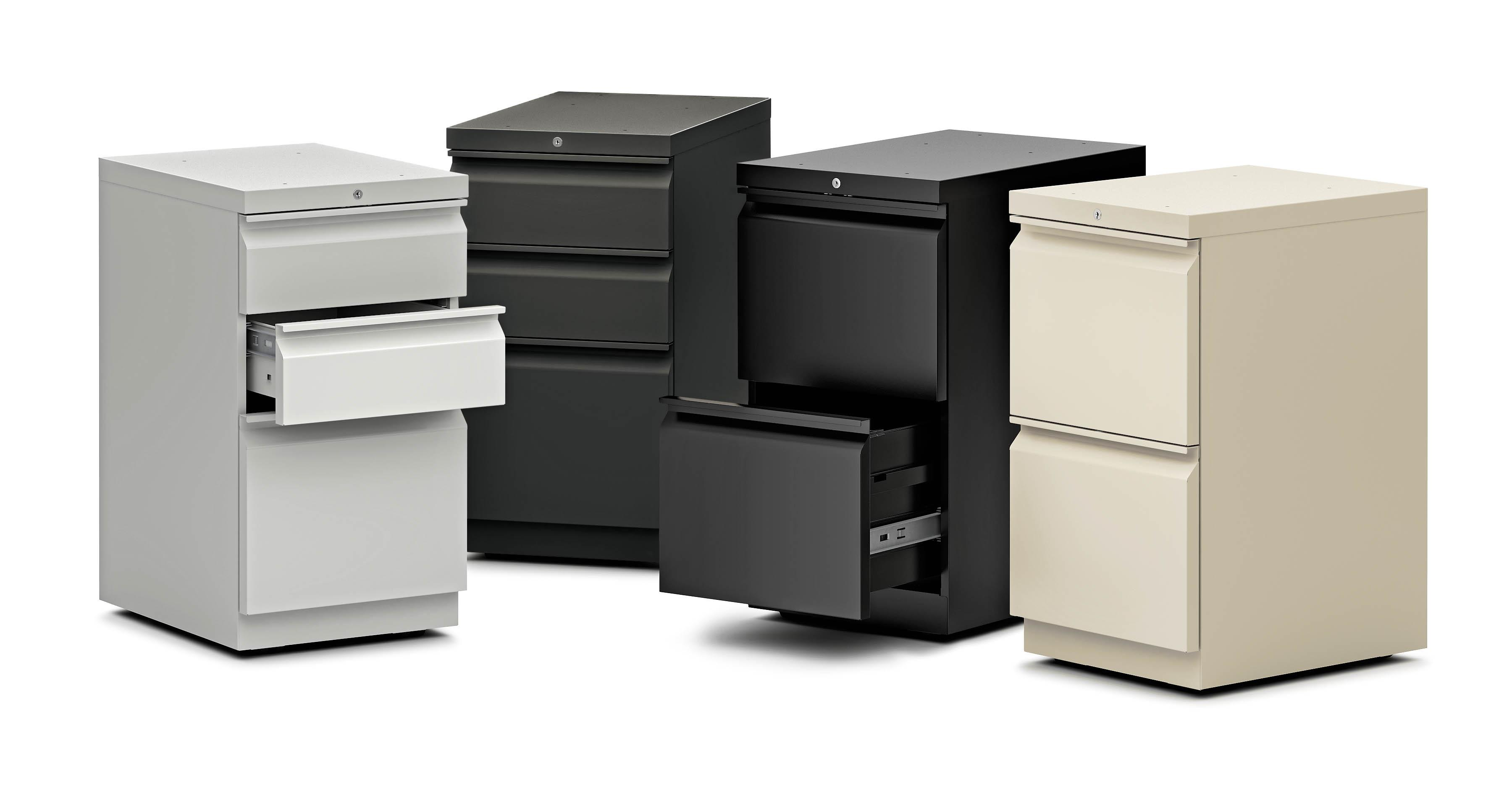 Amazon.com: HON Efficiencies Mobile Pedestal File - Storage ...