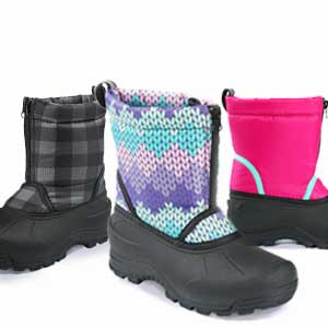 Northside icicle winter boots for kids boys toddler girls