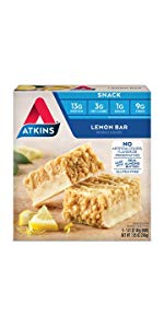 lemon bar atkins protein low carb keto friendly