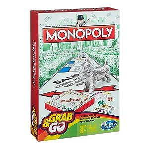 Hasbro Gaming Monopoly Juego de Viaje, versión española (B1002105): Amazon.es: Juguetes y juegos