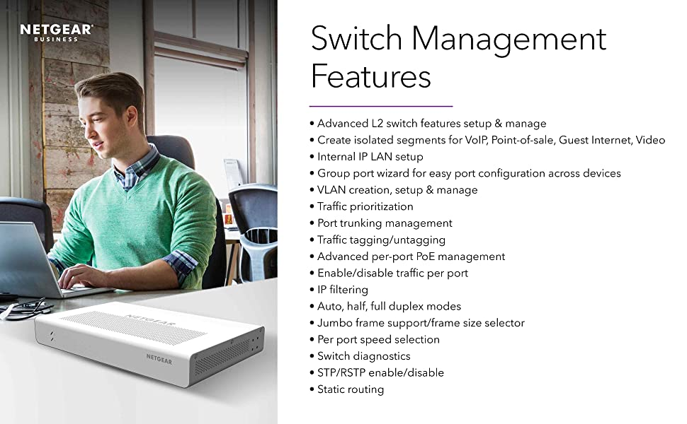 switch management features