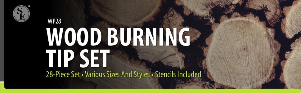 Wood Burning Tip Set