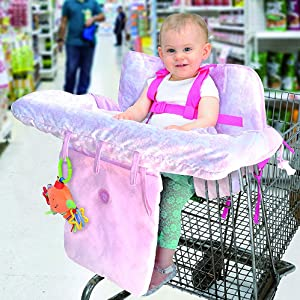 Little Me Baby Shopping Cart Cover a