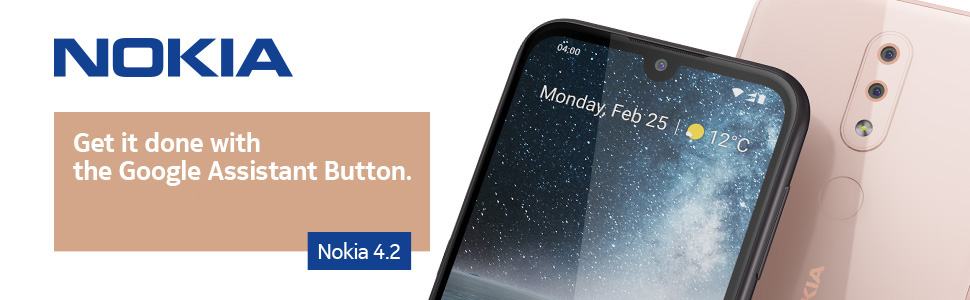 Nokia, Nokia mobile, Nokia 4.2, Google Assistant. Button, Notification light, HDR, Dual Camera,