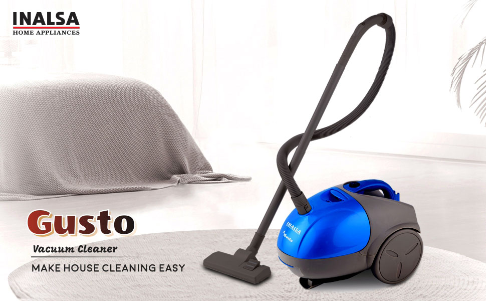gusto, vacuum cleaner, inalsa,
